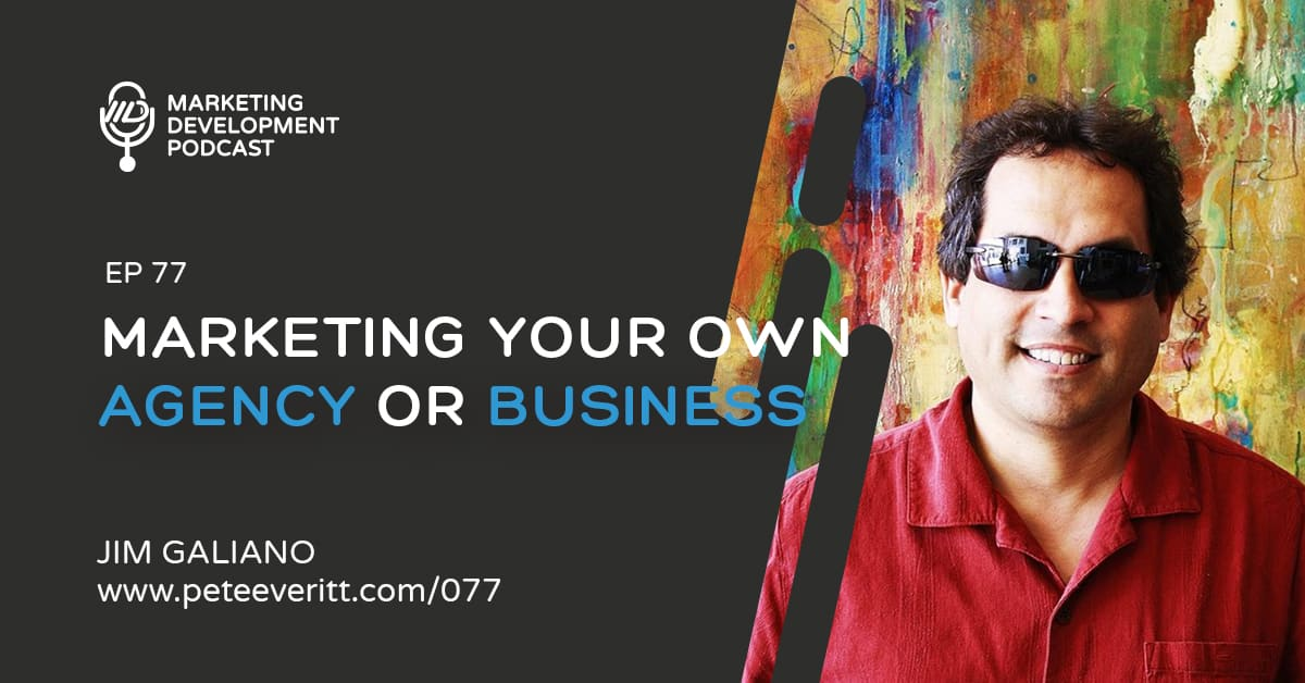 077 – Marketing your own Agency or Business