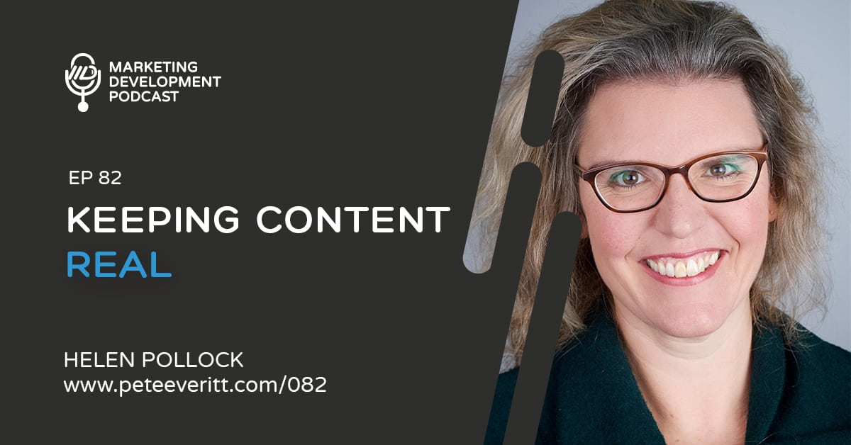 082 – Keeping Content Real