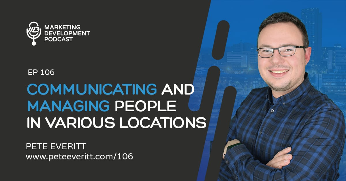 106 – Communicating with people in various locations